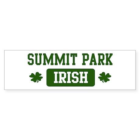 Summit Park Irish Bumper Sticker