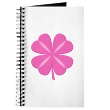4 Leaf Pink Clover Journal