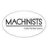 Machinist Bumper Stickers
