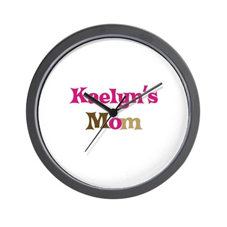 Kaelyn's Mom Wall Clock