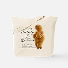 Cute Body image Tote Bag
