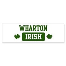 Wharton Irish Bumper Bumper Sticker