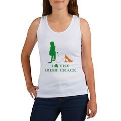 Funny Irish crack Women's Tank Top