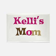 Kelli's Mom Rectangle Magnet