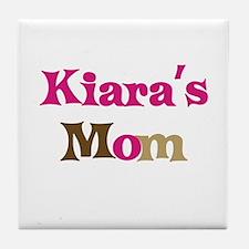 Kiara's Mom Tile Coaster