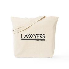 Lawyer Joke Tote Bag