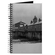 Snow Covered Maine State Pier Journal