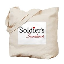 Soldier's Sweetheart Tote Bag