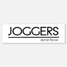 Jogger Joke Bumper Bumper Bumper Sticker