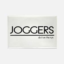 Jogger Joke Rectangle Magnet