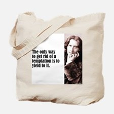 """Wilde """"Only Way"""" Tote Bag"""