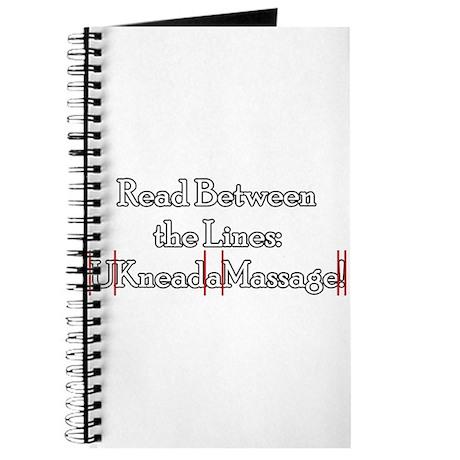 U Need a Massage Journal