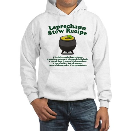 Leprechaun Stew Recipe Hooded Sweatshirt