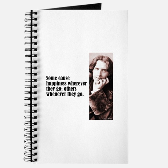 "Wilde ""Some Cause"" Journal"