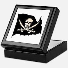 Calico Jack Pirate Flag Keepsake Box