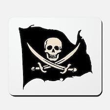 Calico Jack Pirate Flag Mousepad