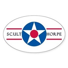 RAF Sculthorpe Oval Decal