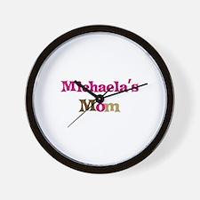 Michaela's Mom Wall Clock