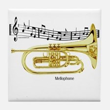 Mellophone Music Tile Coaster