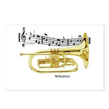 Mellophone Music Postcards (Package of 8)