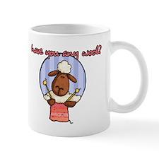 have you any wool ? Mug