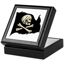 Henry Avery Pirate Flag Keepsake Box