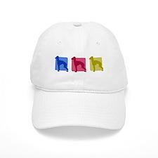 Color Row Italian Greyhound Hat