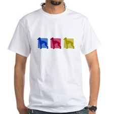 Color Row Italian Greyhound T-Shirt