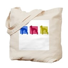 Color Row Italian Greyhound Tote Bag