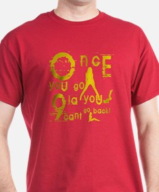 Once you go 9ja you can't go T-Shirt