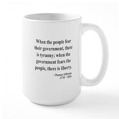 Thomas Jefferson 6 Large Mug