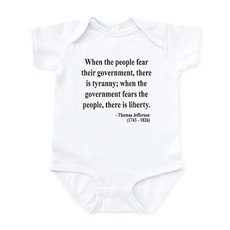 Thomas Jefferson 6 Infant Bodysuit