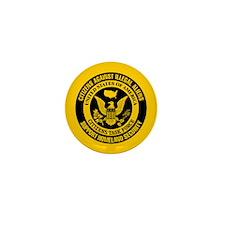 Citizens Against Illegal Aliens Mini Button