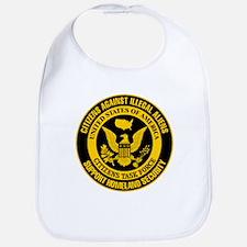 Citizens Against Illegal Aliens Bib