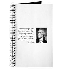 Thomas Jefferson 6 Journal