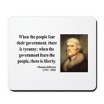 Thomas Jefferson 6 Mousepad