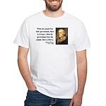 Thomas Jefferson 6 White T-Shirt