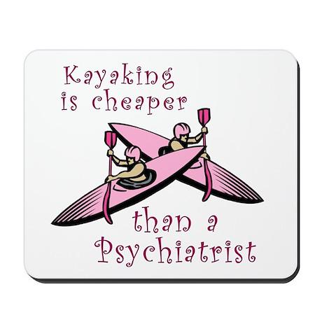 Kyaking is Cheaper Mousepad