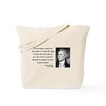 Thomas Jefferson 7 Tote Bag