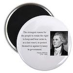 Thomas Jefferson 7 Magnet