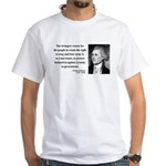 Thomas Jefferson 7 White T-Shirt