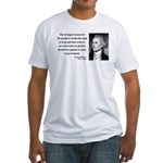 Thomas Jefferson 7 Fitted T-Shirt