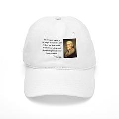 Thomas Jefferson 7 Baseball Cap