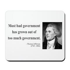 Thomas Jefferson 8 Mousepad