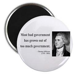 Thomas Jefferson 8 Magnet