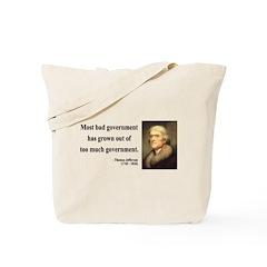 Thomas Jefferson 8 Tote Bag