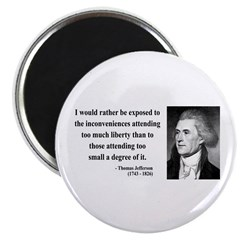 Thomas Jefferson 11 Magnet