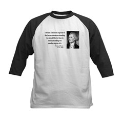 Thomas Jefferson 11 Tee