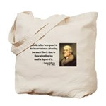 Thomas Jefferson 11 Tote Bag