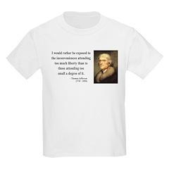 Thomas Jefferson 11 T-Shirt